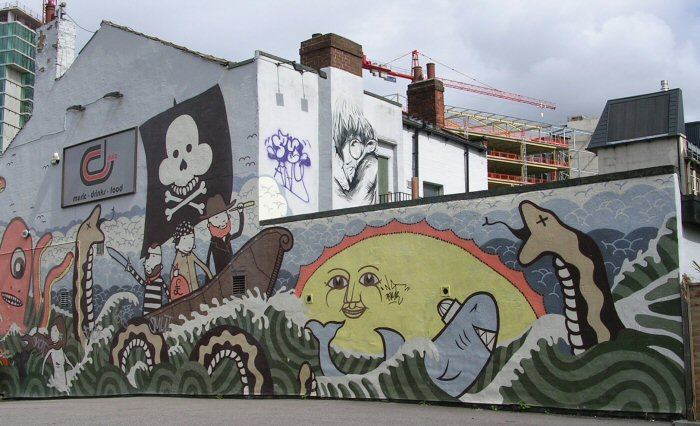 Former artwork by Kid Acne, 17 August 2008