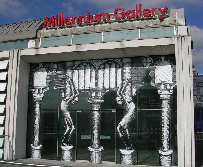 Millennium Gallery Artwork